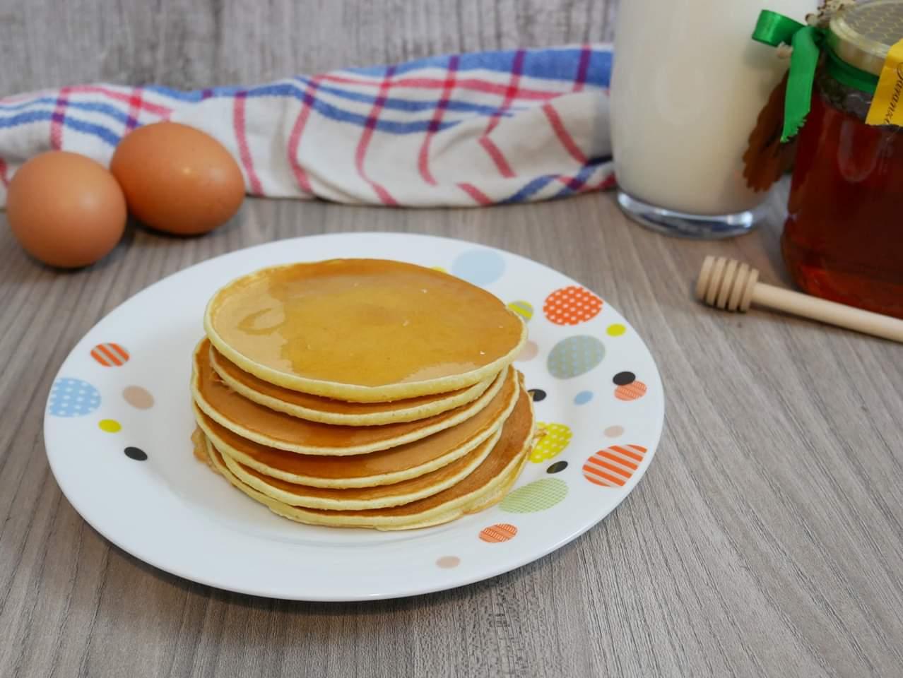 Ricetta Pancake Nella Bottiglia.Pancake In Bottiglia Valentinainpasta