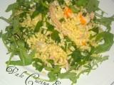 insalata di riso con tonno e rucola