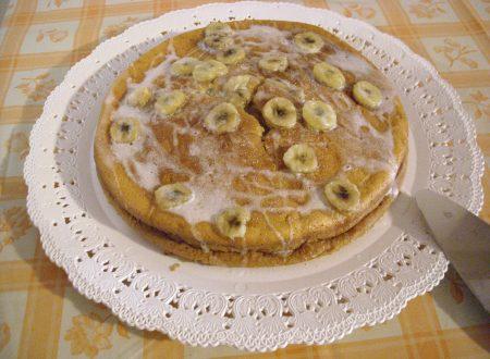 torta di banane e yogurt