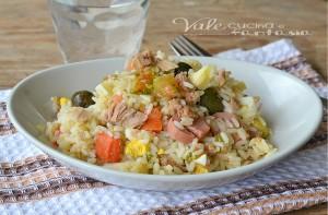 Insalata di riso ricetta fredda estiva