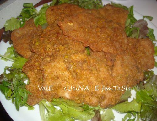 Cotolette ai pistacchi,ricetta saporita