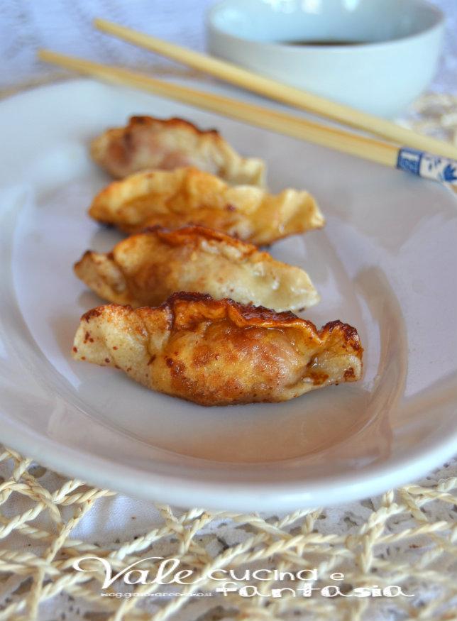 Ravioli alla griglia ricetta cinese