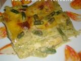 lasagne al pesto e asparagi