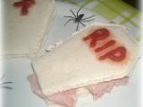 Bare tramezzino ricetta per halloween