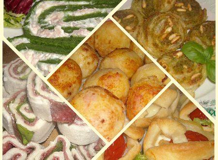 Idee di antipasti,ricette facili e veloci