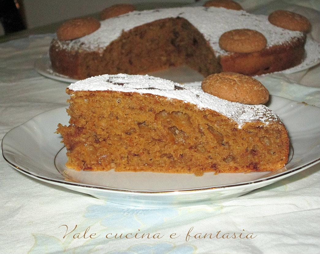 torta con amaretti cioccolato e ricotta valeria
