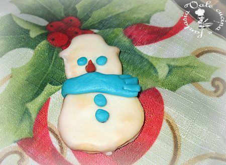 Biscotti di Natale con glassa