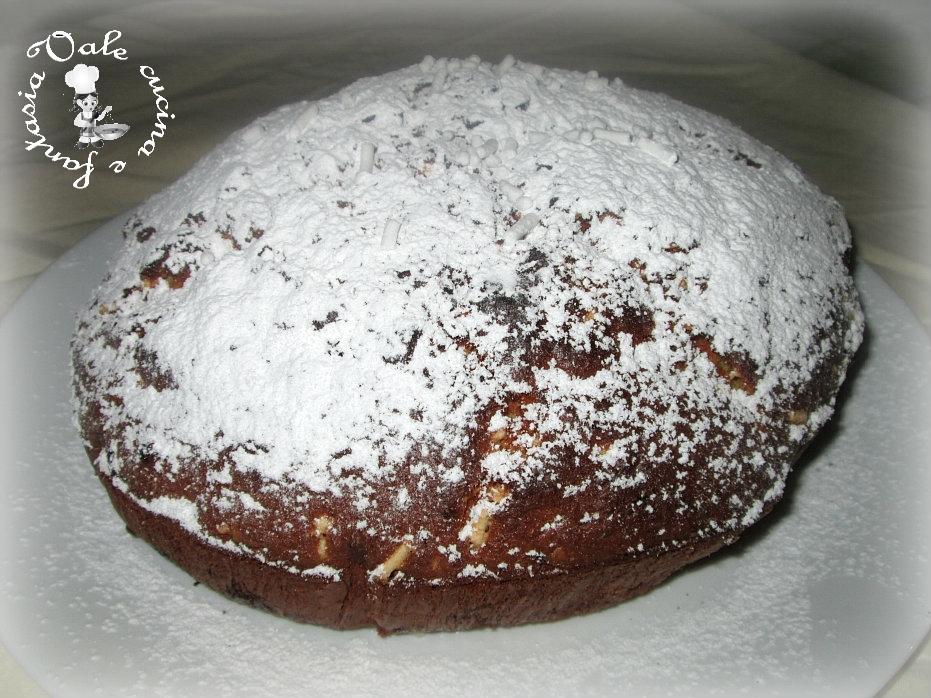 torta con cioccolato bianco e mandorle vale cucina e fantasia