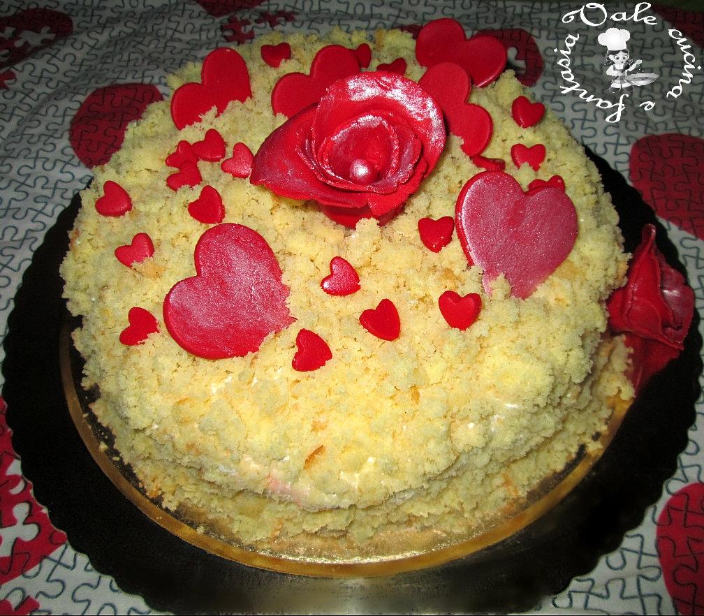 Torta mimosa con crema chantilly vale cucina e fantasia