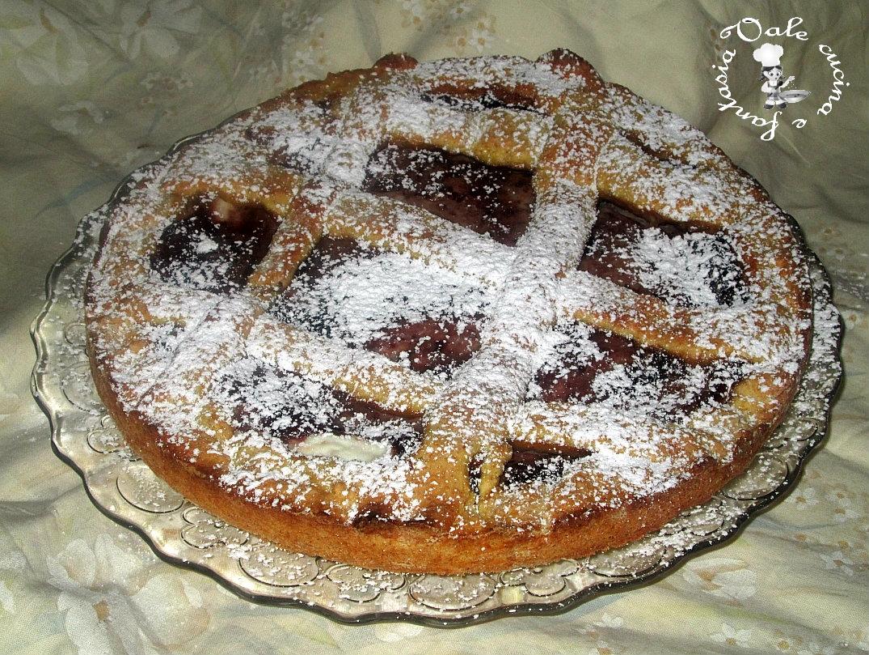 Crostata integrale con ricotta e marmellata vale cucina e fantasia - Cucina con vale ...