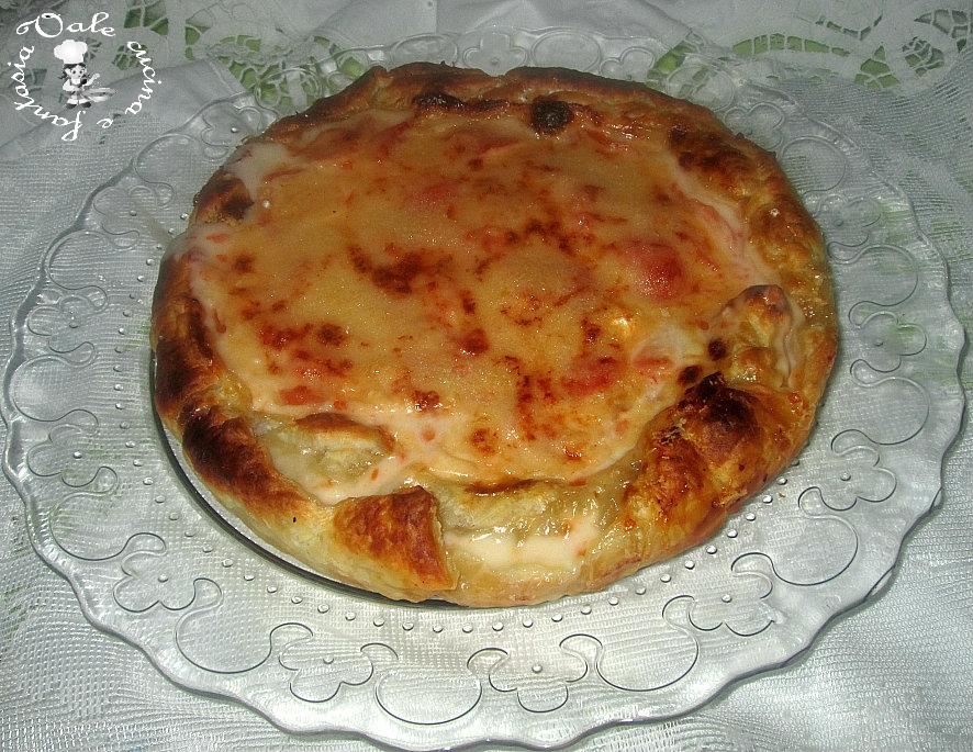 Torta rustica con pomodori e formaggio vale cucina e fantasia