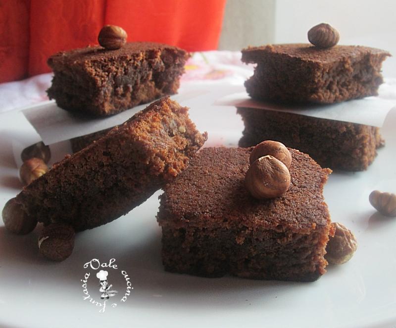 Brownie al cioccolato al latte e nocciole.1