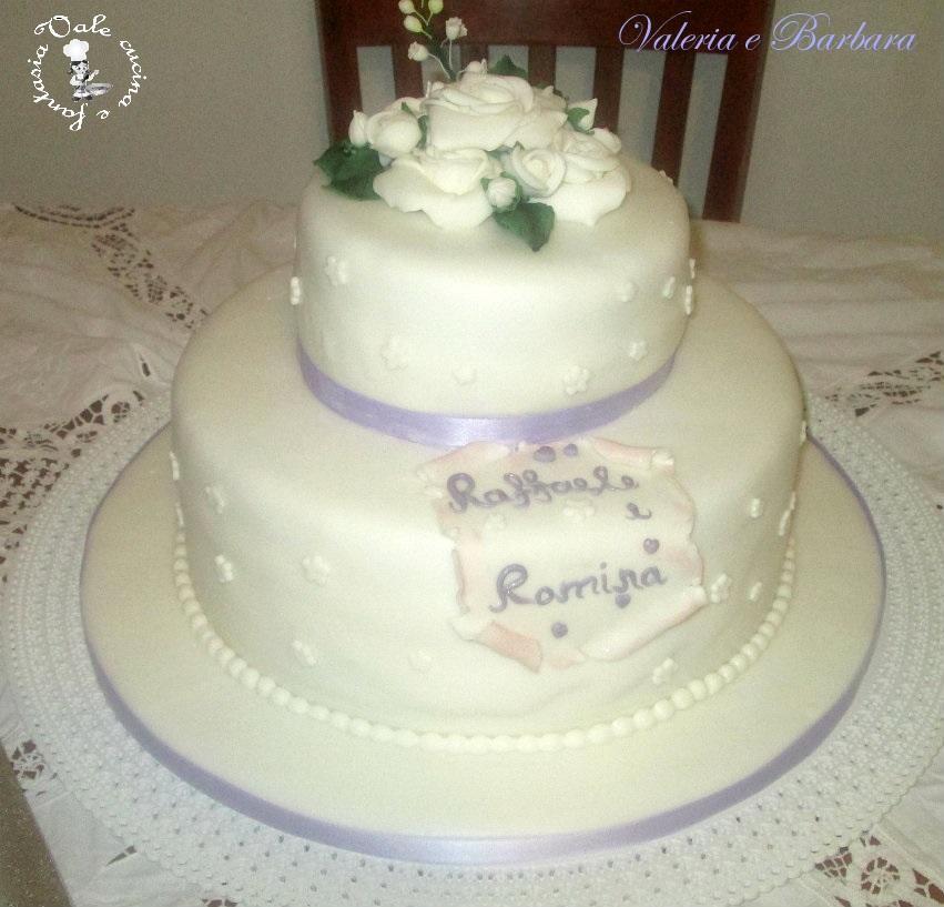 Amato Torte matrimoniali in pasta di zucchero YM38