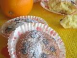 Tortine con ricotta ,arancia e gocce di cioccolato