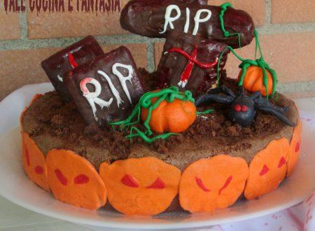 Torta cimitero ricetta per Halloween