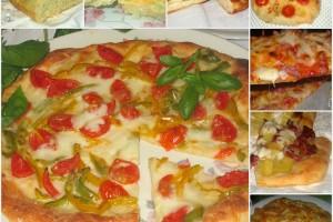 Raccolta di focacce e pizze