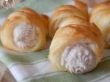 Cannoli salati con crema al salmone e gorgonzola