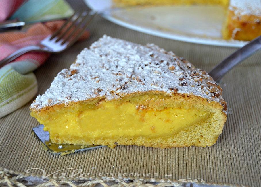 Crostata con crema e nocciole ricetta con pasta frolla all for Pasta frolla planetaria