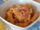 pasta con verza e salsiccia ricetta primo piatto saporito