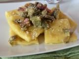 Paccheri con carciofi e pancetta ricetta primo piatto saporito