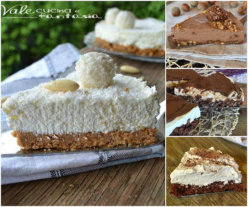 Raccolta di torte fredde facili e veloci for Ricette dolci facili e veloci