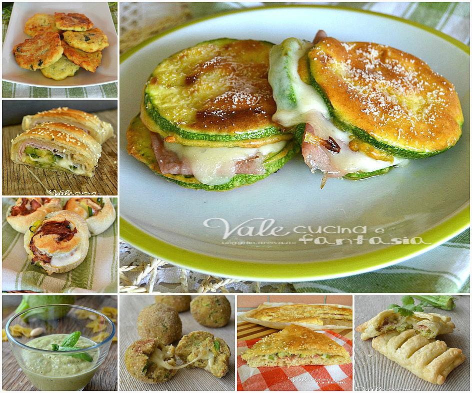 Raccolta di ricette con le zucchine facili e gustose - Cucinare le zucchine in modo dietetico ...