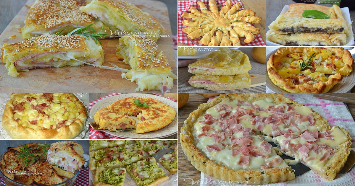 Torte salate raccolta di ricette facili veloci economiche
