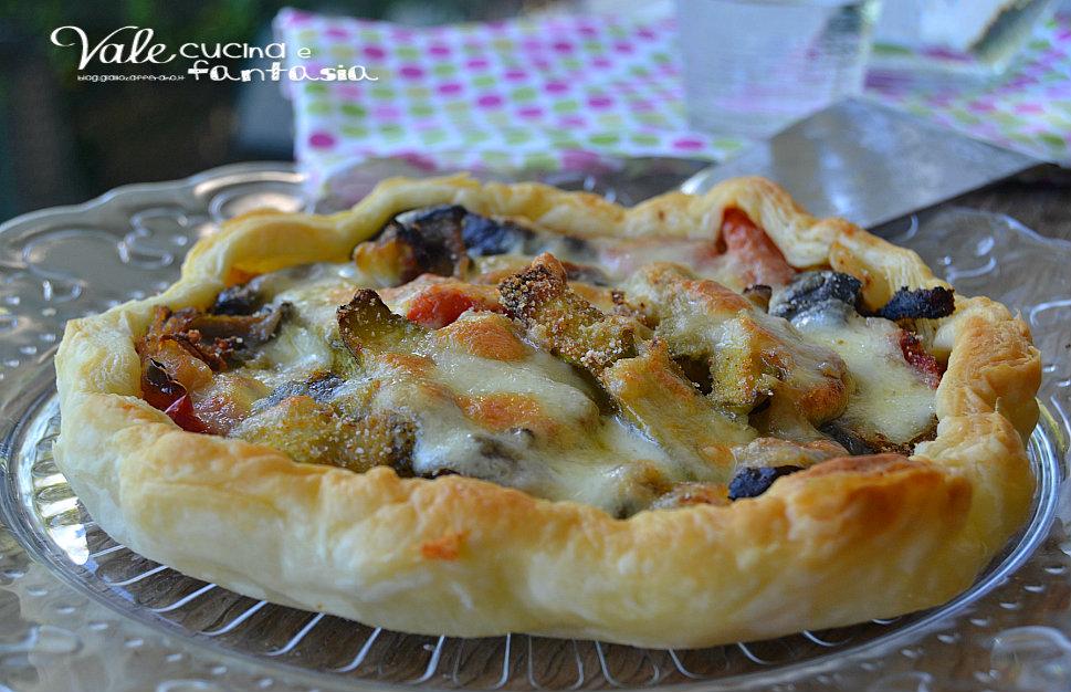 Torta rustica con verdure gratinate ricetta facile e veloce
