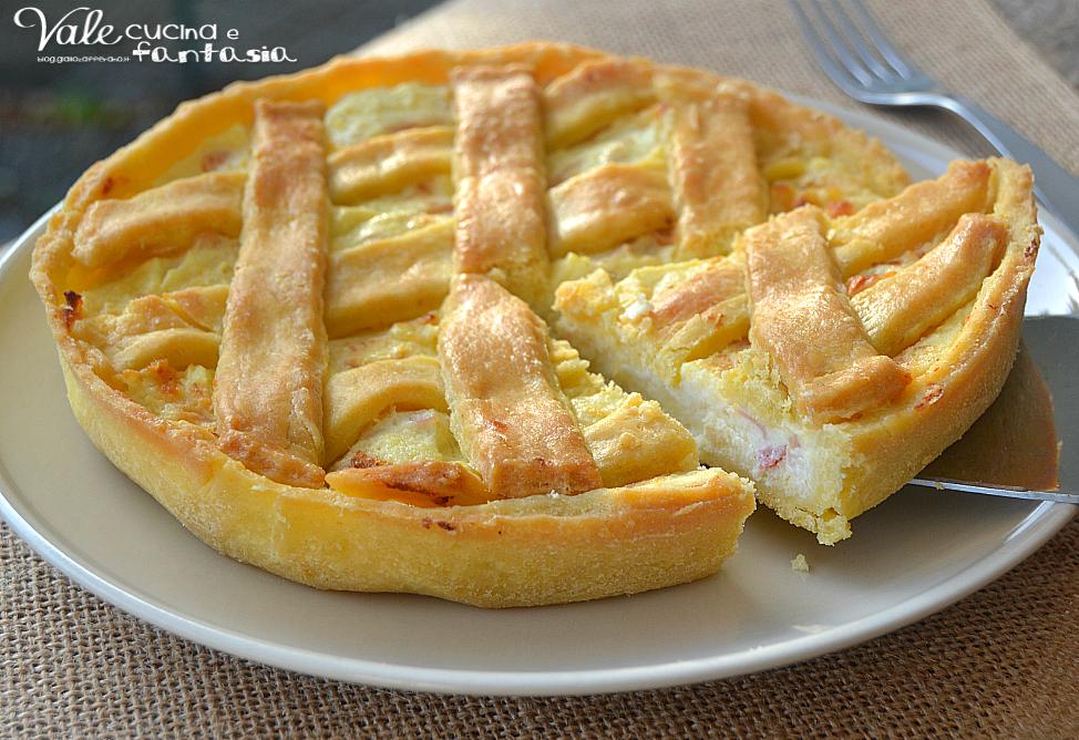 Torte salate con pasta sfoglia prosciutto cotto ricette for Torte salate con pasta sfoglia