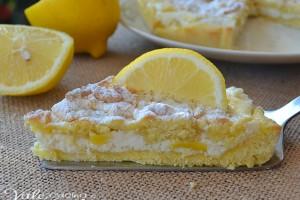Sbriciolata con crema di ricotta e limone ricetta dolce