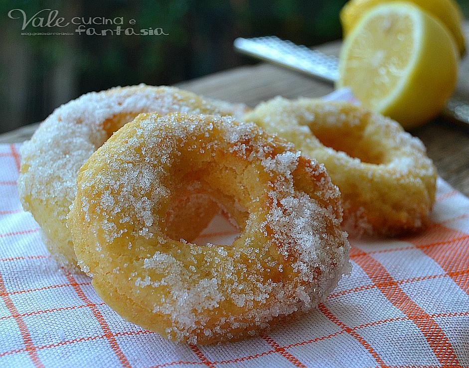 Ciambelline veloci con ricotta e limone ricetta senza burro for Decorazione limone