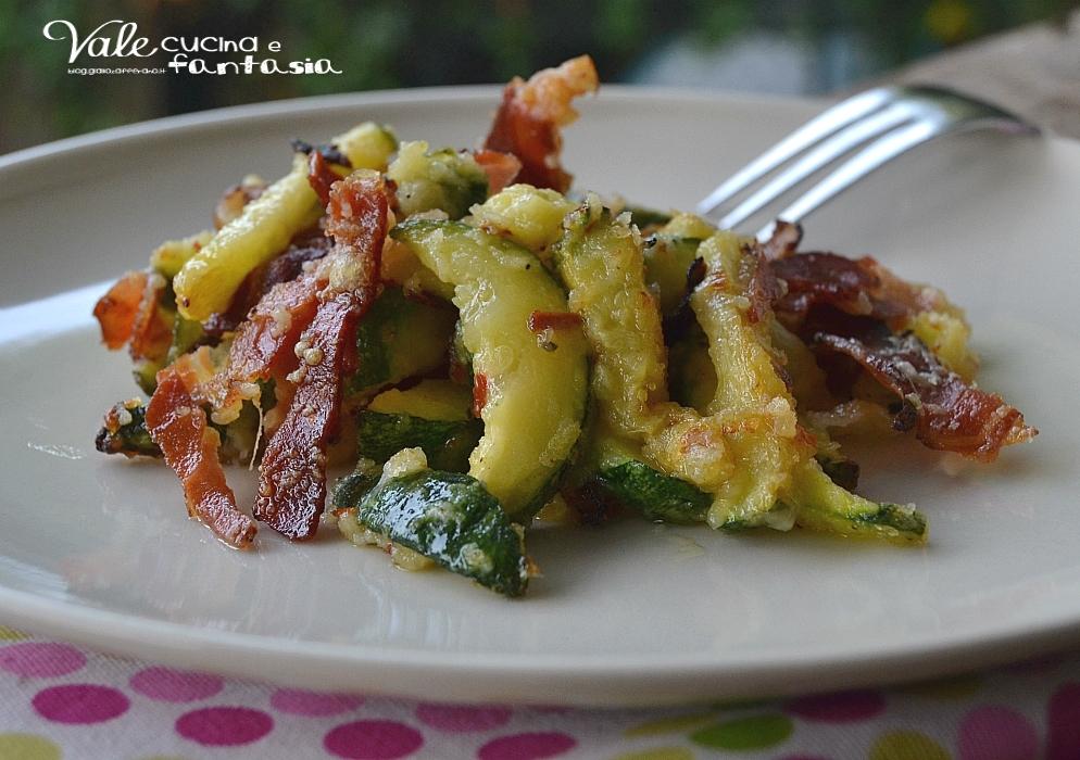 Zucchine saporite al forno ricetta contorno veloce