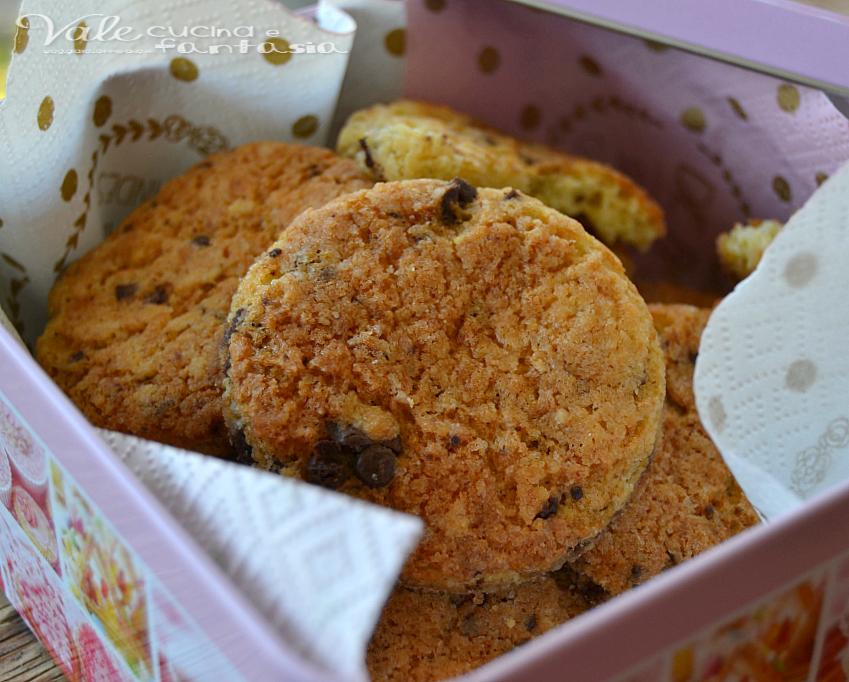 Biscotti cookie ricetta facile e veloce