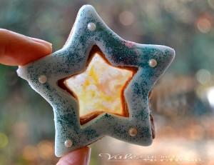 Biscotti di vetro decorati ricetta