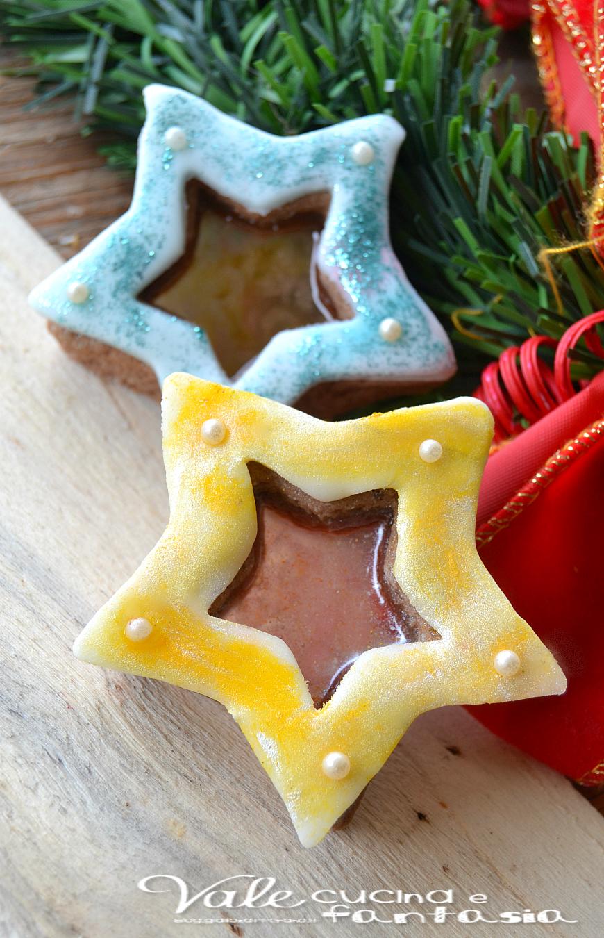 Biscotti Di Natale Effetto Vetro.Biscotti Di Vetro Decorati Ricetta Per Natale