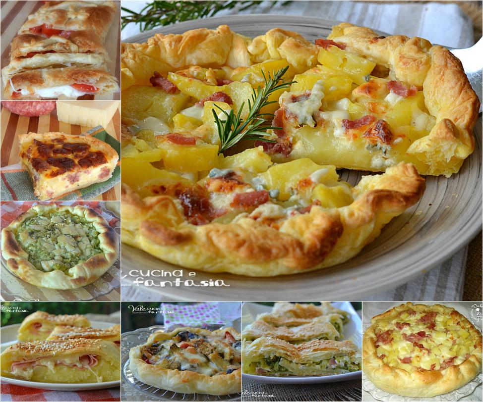 Torte salate ricette facili e sfiziose per capodanno for Ricette torte salate