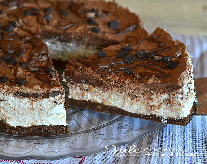 Cheesecake Mascarpone Panna E Nutella