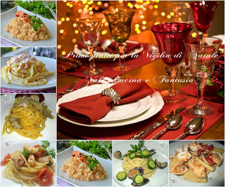 Primi piatti per la vigilia di natale ricette facili e veloci for Primi piatti facili