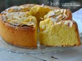 Torta di mele con crema pasticcera e mascarpone