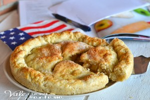 Crostata di mele americana (apple pie)
