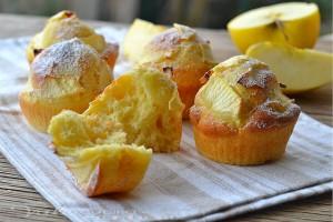 Muffin con panna e mele ricetta facile
