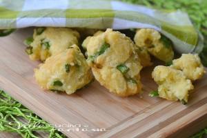 Frittelle di asparagi e ricotta ricetta veloce