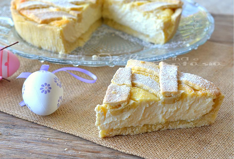Crostata di ricotta ricetta dolce facile e golosissima for Ricette dolci di pasqua