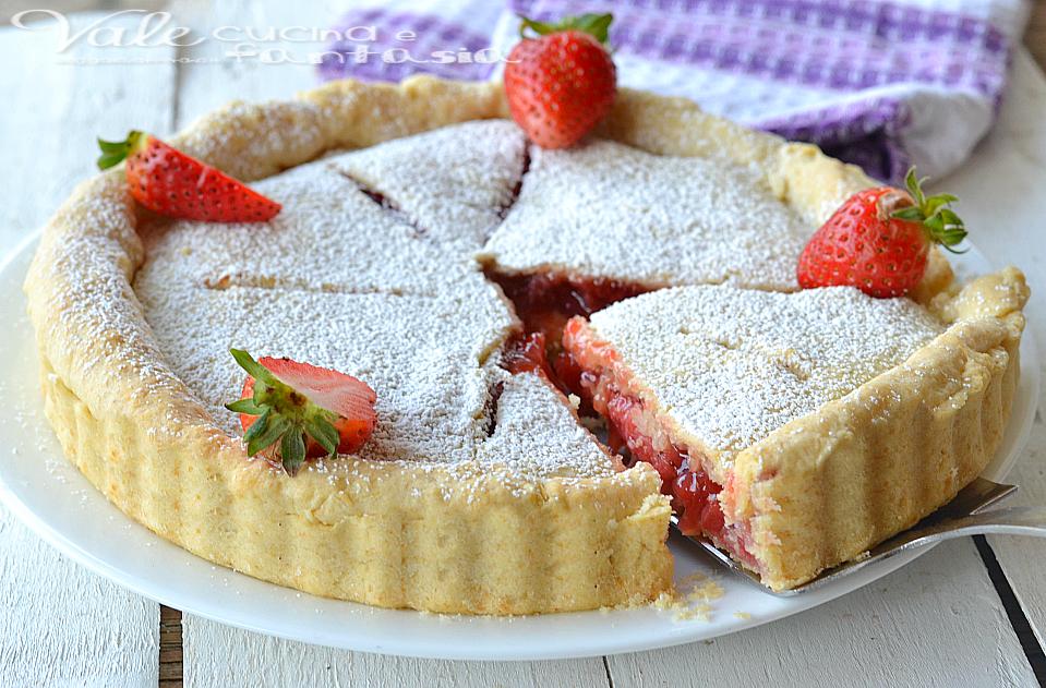 Crostata di fragole americana (strawberry pie)