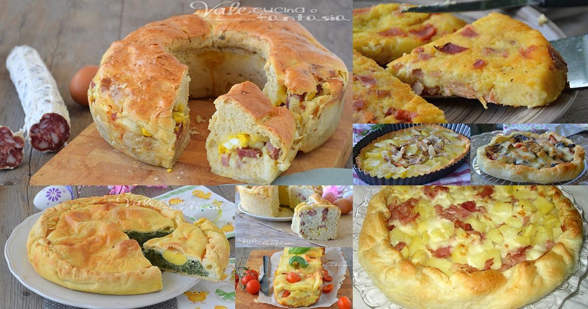 Raccolta di torte salate per pasquetta ricette facili e for Torte salate facili