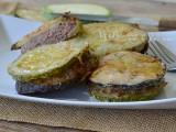 Hamburger con zucchine e melanzane secondo piatto