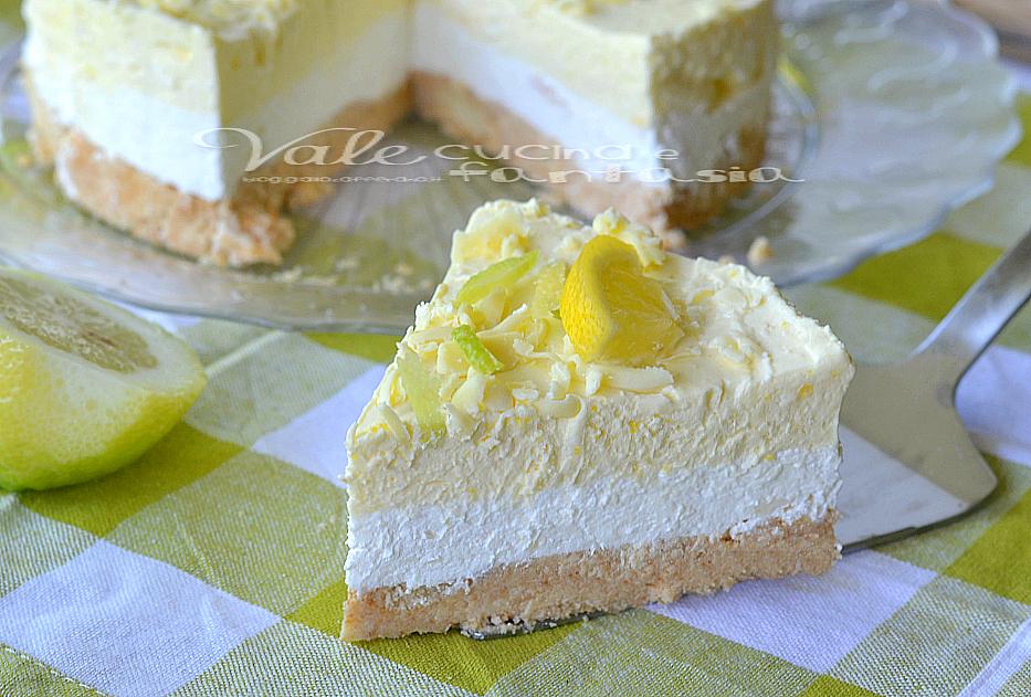 Conosciuto al limone e cioccolato bianco senza cottura MD36