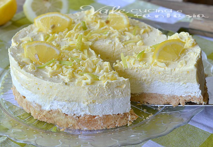 Molto al limone e cioccolato bianco senza cottura TB04