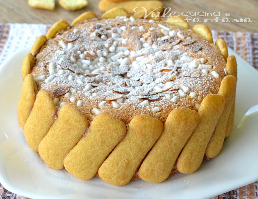 Torta cotta di pavesini e amaretti ricetta dolce