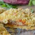 Sbriciolata salata alla parmigiana di melanzane